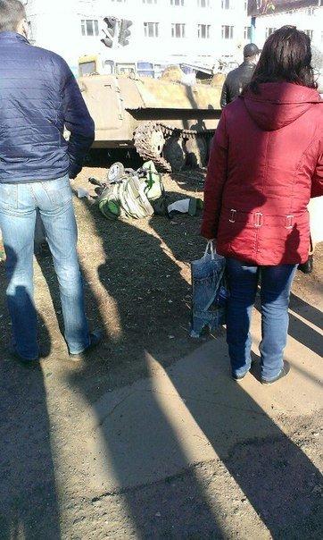 В Константиновке БТР сбил насмерть ребенка (ФОТО) (фото) - фото 2