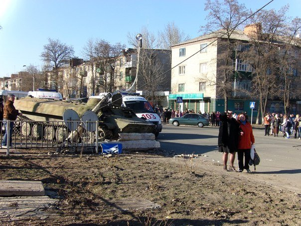 В Константиновке БТР сбил насмерть ребенка (ФОТО) (фото) - фото 3