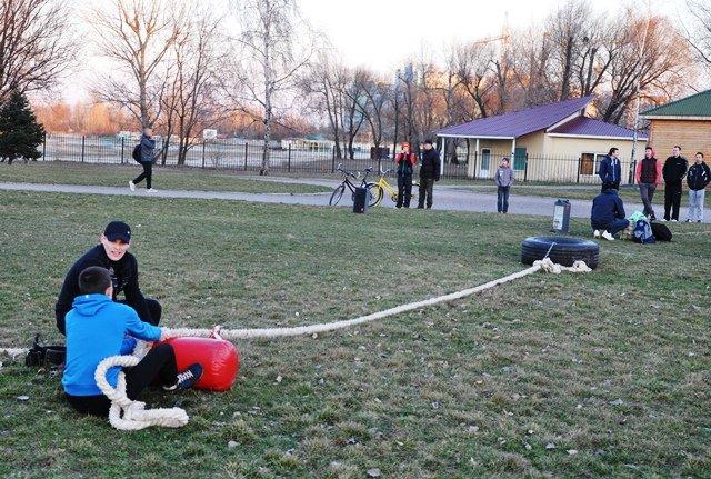 У Черкасах у Долині троянд стартував громадський проект «Фітнес Open Air»., фото-4