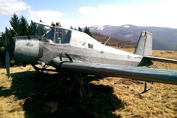 На Закарпатті міліція в горах знайшла літак контрабандистів (ФОТО) (фото) - фото 1