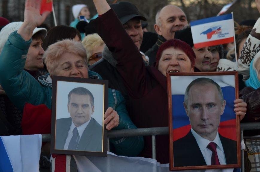 В центре Симферополя отпраздновали годовщину Референдума (ФОТО, ВИДЕО), фото-13