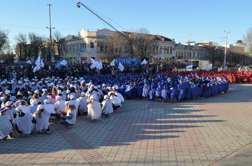 В центре Симферополя отпраздновали годовщину Референдума (ФОТО, ВИДЕО), фото-3