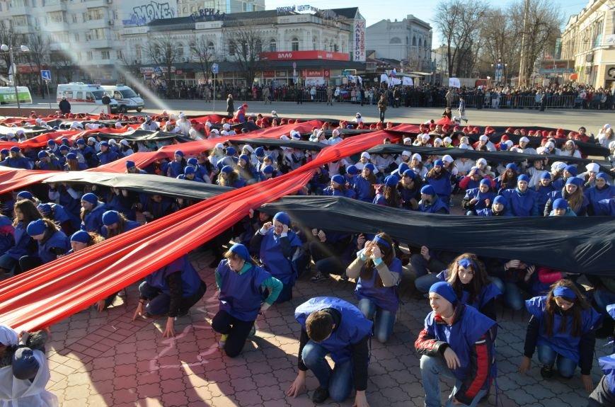 В центре Симферополя отпраздновали годовщину Референдума (ФОТО, ВИДЕО), фото-1