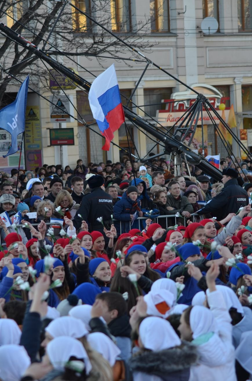 В центре Симферополя отпраздновали годовщину Референдума (ФОТО, ВИДЕО), фото-7
