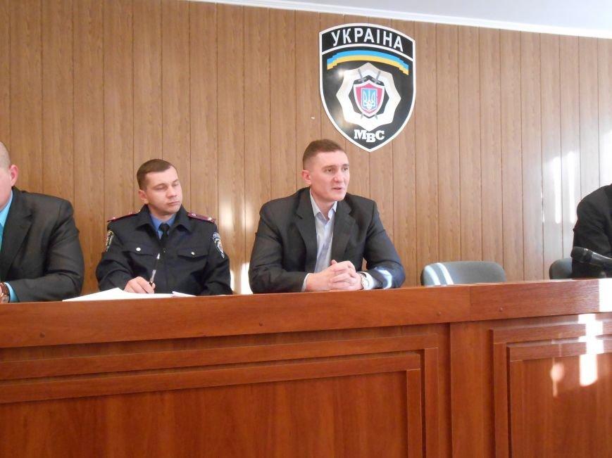 Днепродзержинское городское управление милиции предоставило гражданам недельный отчёт (фото) - фото 1
