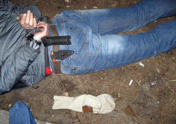 На Полтавщині «на гарячому» затримали серійного грабіжника (фото) - фото 1