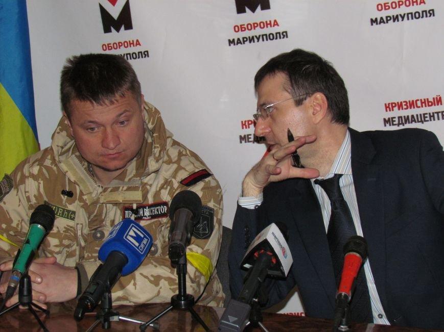Руководитель подразделения «Правого сектора» готов стать мэром Мариуполя (ФОТОРЕПОРТАЖ), фото-3