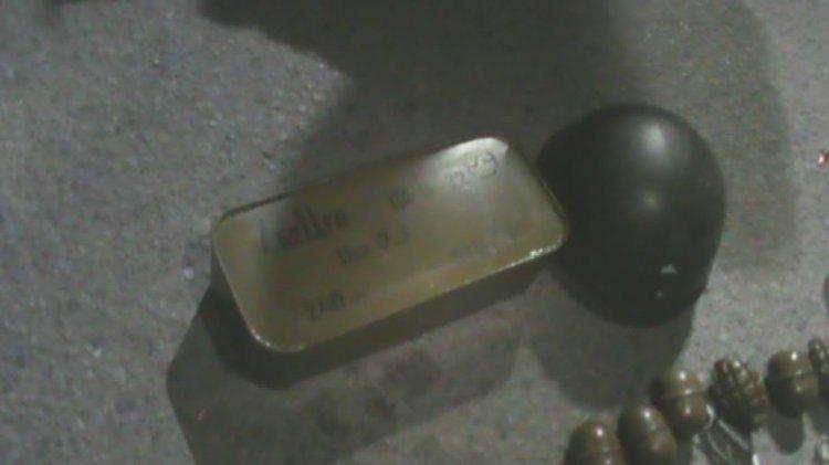 Военного из Днепродзержинска задержали на блокпосту с гранатами и патронами, фото-1