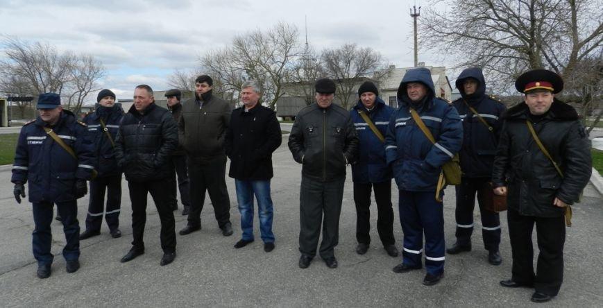 Учения херсонских спасателей: авария на аммиакопроводе (фото) (фото) - фото 3