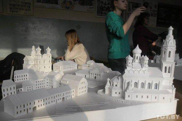 В Гродно школьники создают уменьшенные копии гродненских достопримечательностей (фото) - фото 4