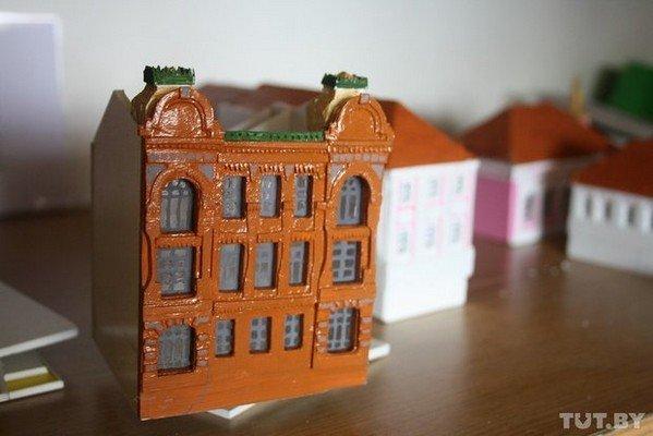 В Гродно школьники создают уменьшенные копии гродненских достопримечательностей (фото) - фото 14