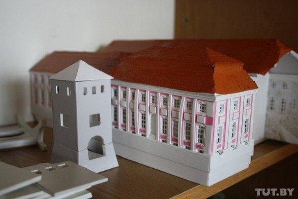 В Гродно школьники создают уменьшенные копии гродненских достопримечательностей (фото) - фото 13