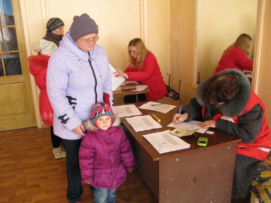 В Димитрове переселенцы получили гуманитарную помощь от МК Красного Креста (ФОТОРЕПОРТАЖ), фото-17