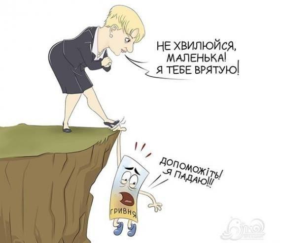 Випадковий «політ» гривні чи запланована дестабілізація економіки України, фото-2