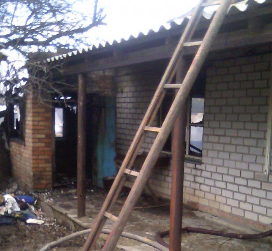 В пожаре на Полтавщине погиб человек (фото) - фото 1
