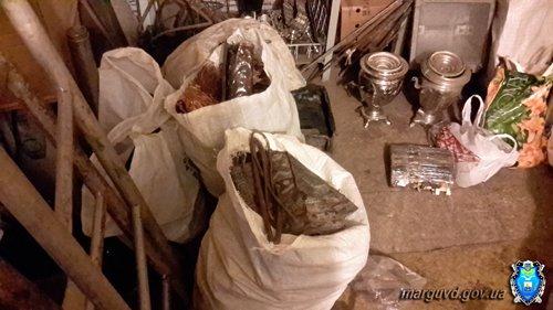 На Левобережье  милиция прикрыла металлоприемку 28-летнего мариупольца, фото-3