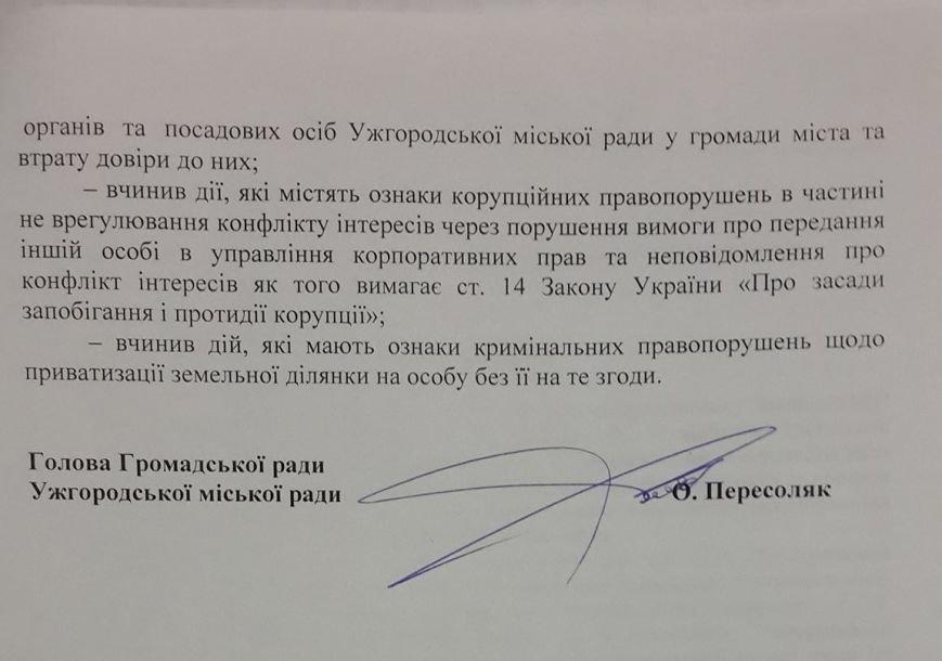 Пакет документів для винесення на сесію питання про звільнення першого заступника мера Івана Волошина (ДОКУМЕНТИ), фото-6