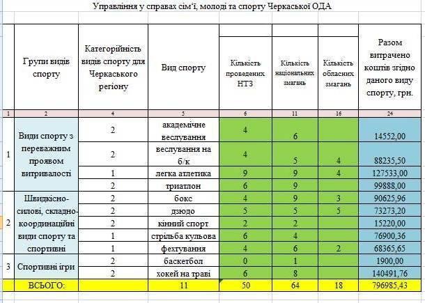 Управлінням у справах сім'ї, молоді та спорту Черкаської ОДА ініційовано спільну нараду зі школою вищої спортивної майстерності облради (фото) - фото 1