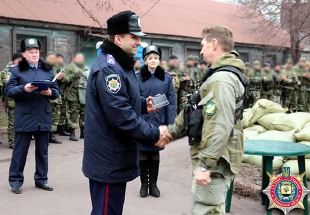 Запорожские «скифовцы» сменили своих товарищей, воевавших в АТО (ФОТО) (фото) - фото 2