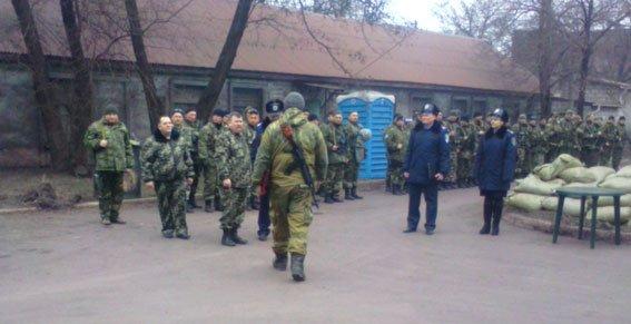 Запорожские «скифовцы» сменили своих товарищей, воевавших в АТО (ФОТО) (фото) - фото 1