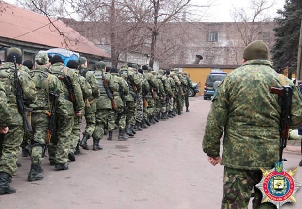 Запорожские «скифовцы» сменили своих товарищей, воевавших в АТО (ФОТО) (фото) - фото 4
