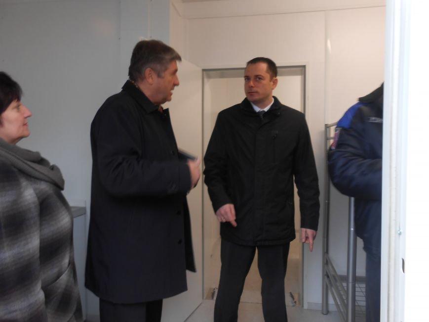 В Днепродзержинске модульный городок для переселенцев будет готов после Пасхи (фото) - фото 1