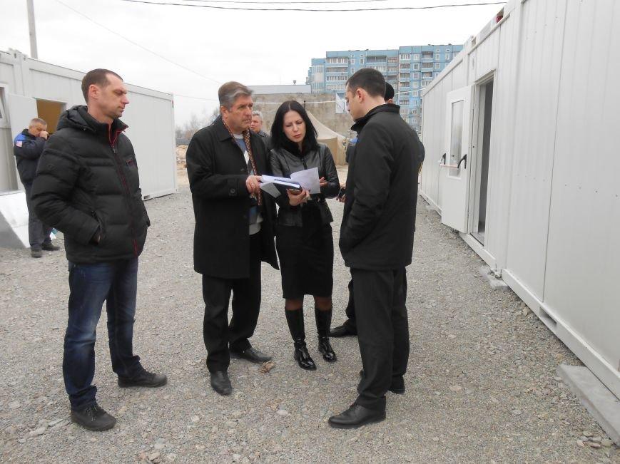 В Днепродзержинске модульный городок для переселенцев будет готов после Пасхи (фото) - фото 6
