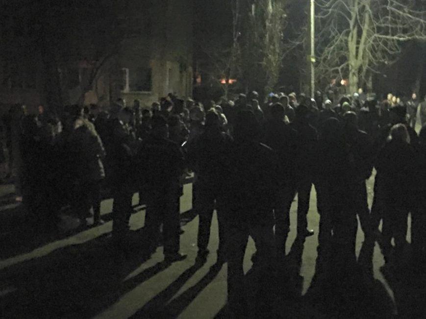 В Киеве охрана стройплощадки применила к активистам оружие (ФОТО) (фото) - фото 2