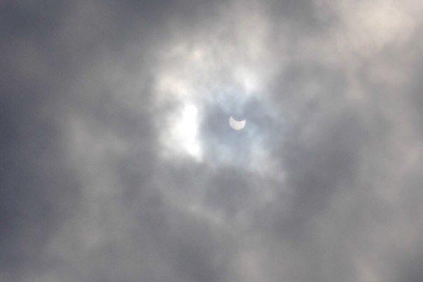 Одесситы делятся в соцсетях фотографиями солнечного затмения (ФОТО) (фото) - фото 1