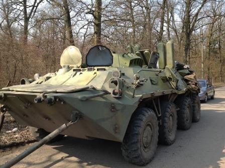 На Львівщині відремонтують ще два бронетранспортери для десантників (ФОТО) (фото) - фото 3
