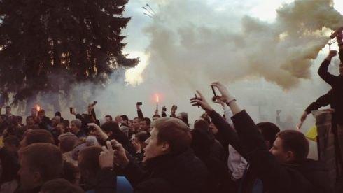 «Днепр» встретили как героев (ФОТО), фото-4