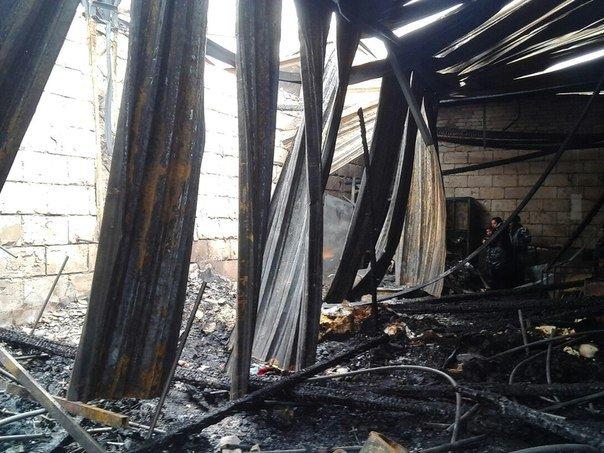 Масштабный пожар в Карачеве (фото) - фото 1