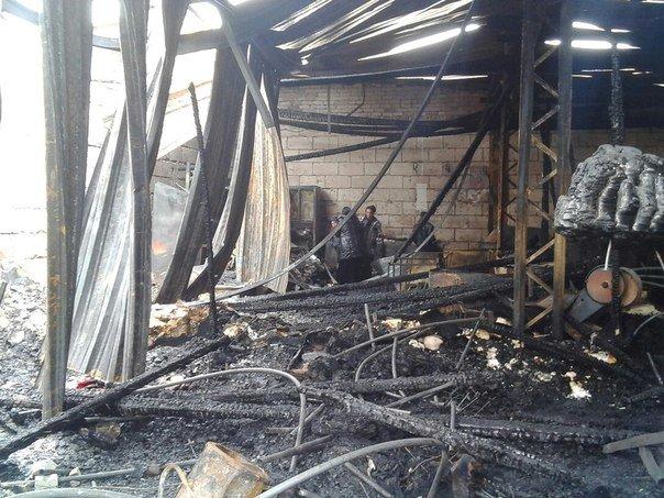 Масштабный пожар в Карачеве (фото) - фото 2