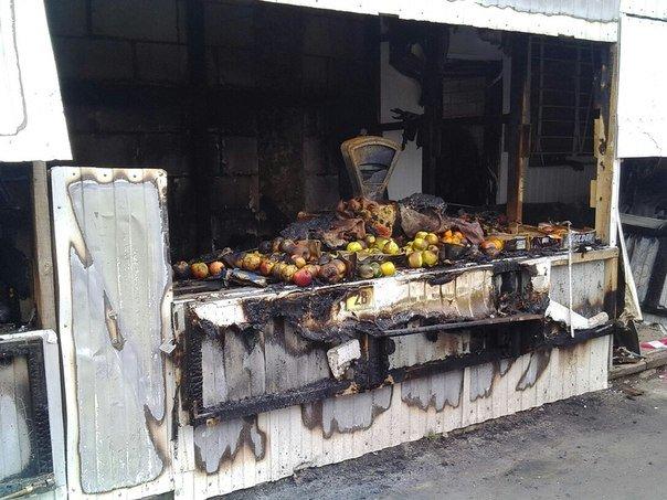 Масштабный пожар в Карачеве (фото) - фото 3