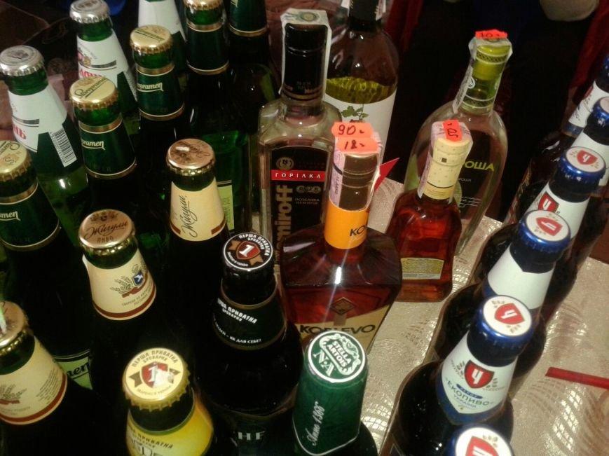 На отчете мэра Сум продают пиво, водку и коньяк (ФОТО) (фото) - фото 1