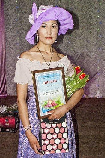 Ракышева Гаухар - победительница конкурса