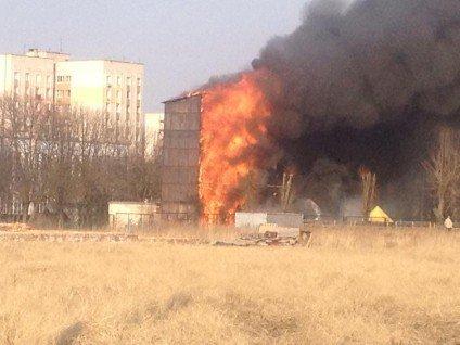 У Черкасах сталася пожежа в інституті пожежної безпеки(фото), фото-4