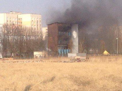 У Черкасах сталася пожежа в інституті пожежної безпеки(фото), фото-5