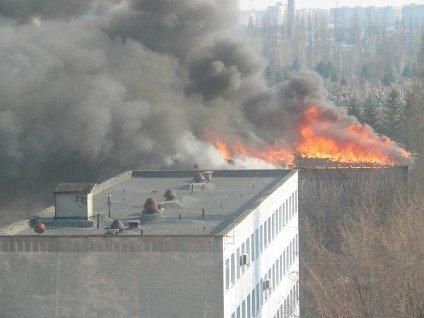 У Черкасах сталася пожежа в інституті пожежної безпеки(фото), фото-2