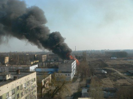 У Черкасах сталася пожежа в інституті пожежної безпеки(фото), фото-1