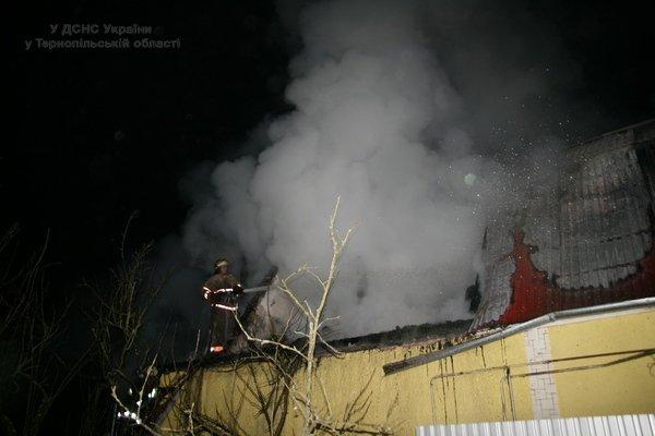 Через пічку на Тернопільщині виникла масштабна пожежа (фото) (фото) - фото 1