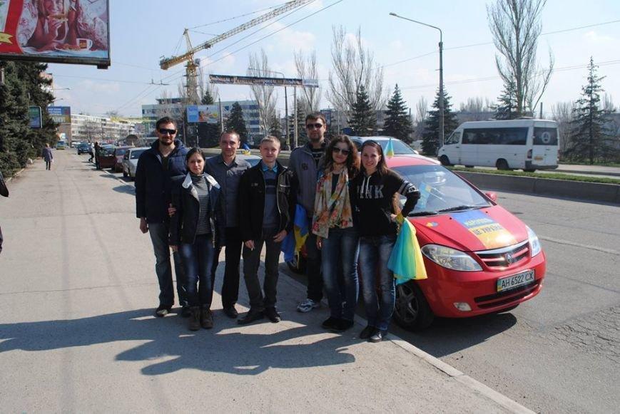 Мариупольцы совершили патриотический автопробег в Запорожье (Фотофакт), фото-2