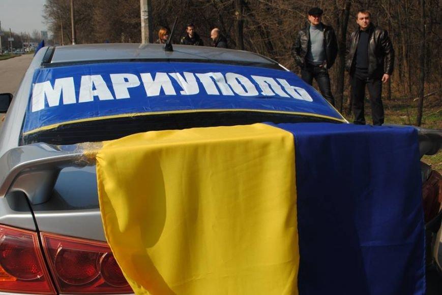Мариупольцы совершили патриотический автопробег в Запорожье (Фотофакт), фото-4