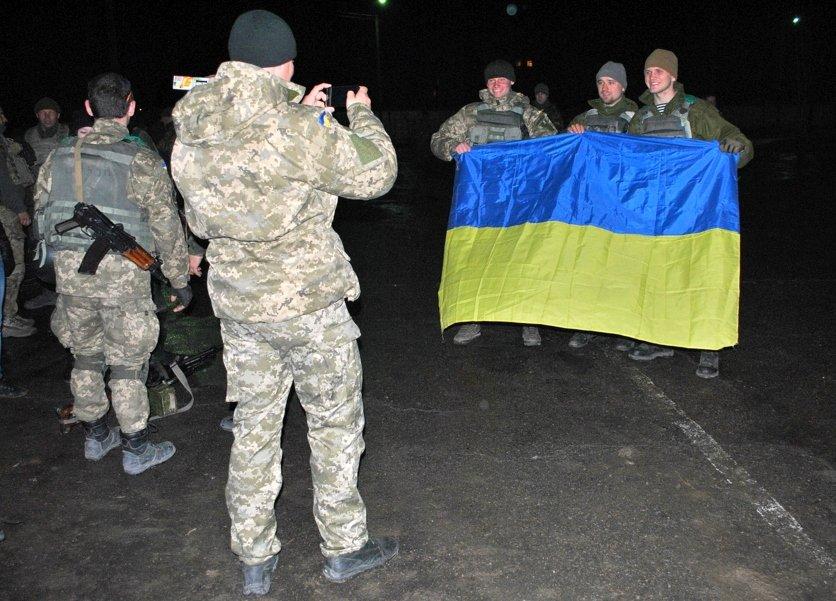 В Николаев из зоны АТО прибыли морские пехотинцы ((ФОТО) (фото) - фото 4