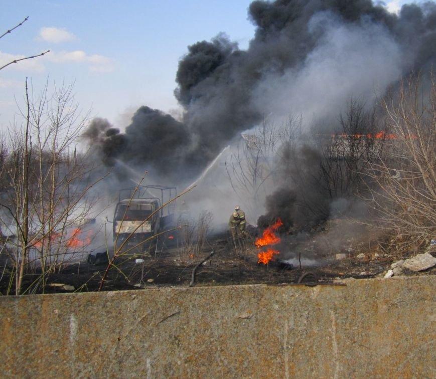 Подробности жуткого пожара в Димитрове (ФОТО, ВИДЕО), фото-4
