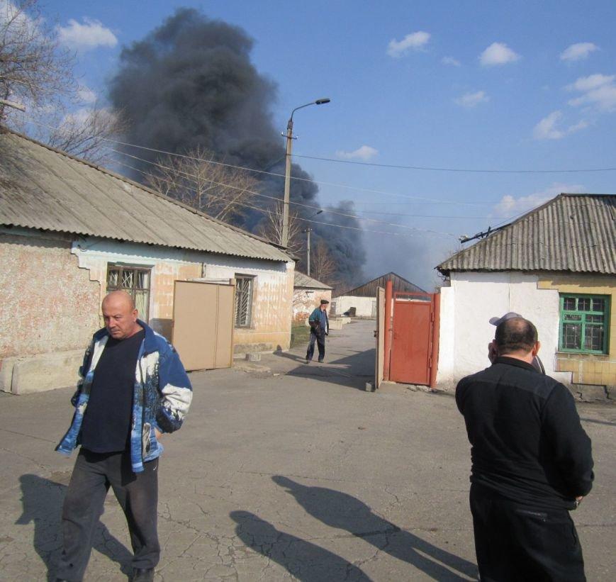 Подробности жуткого пожара в Димитрове (ФОТО, ВИДЕО), фото-1