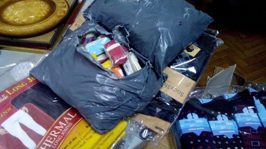 Невідомий тернополянин передав три ящики білизни для бійців в зону АТО (фото) (фото) - фото 1