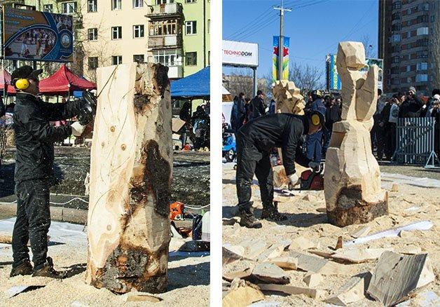 От деревяшки, до скульптуры