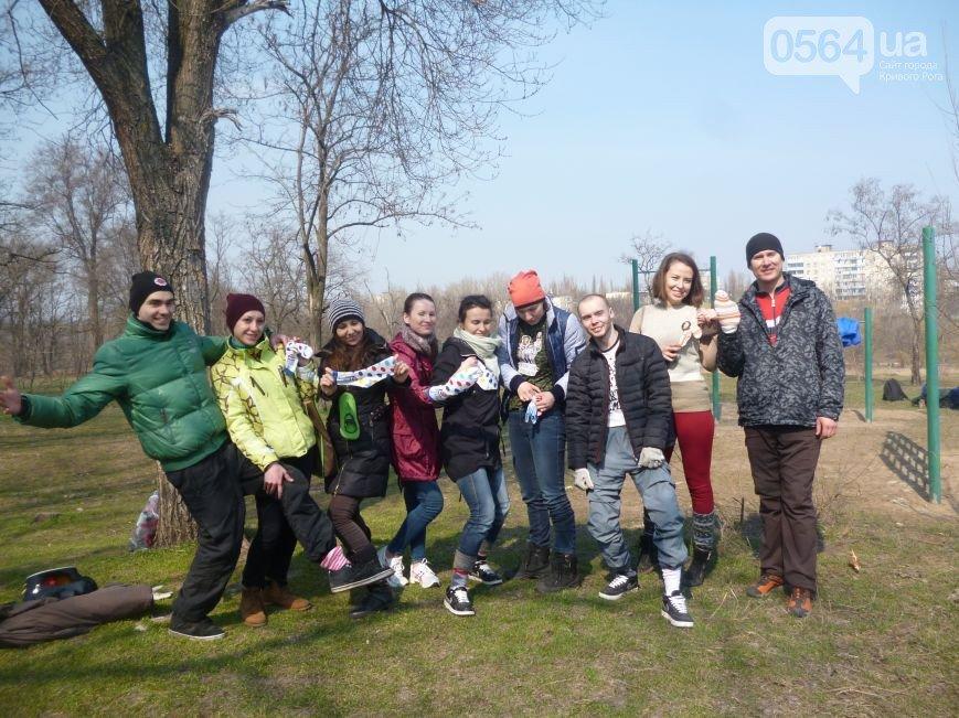 Криворожане присоединились к международному флэш-мобу, убрали Соколовку и охраняют наш покой на передовой (фото) - фото 1