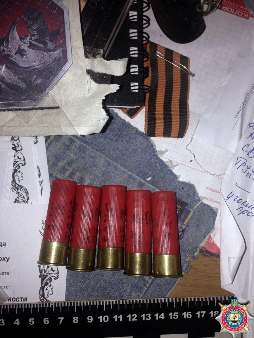 В Красноармейске ликвидировали склад с оружием, агитматериалами и символикой «ДНР», фото-1